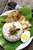 Nasi Dagang - Series 4 Royalty Free Stock Photo