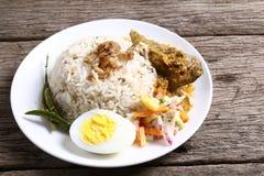 Nasi Dagang - Series 2 Royalty Free Stock Images