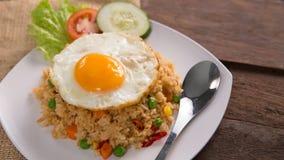 Nasi goreng ή τηγανισμένο ρύζι στοκ εικόνες με δικαίωμα ελεύθερης χρήσης