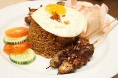 Nasi goreng Stock Photography