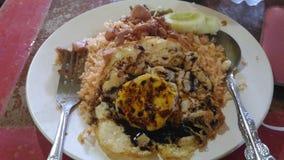 Nasi Goreng (Fried Rice) Royalty Free Stock Image