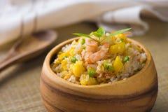 Nasi Goreng indones Fried Rice Royaltyfri Foto