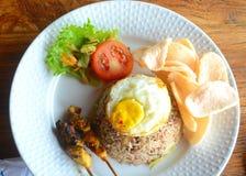 Nasi Goreng Indonesian Food foto de stock