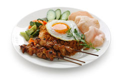 Nasi goreng , indonesian fried rice Stock Image