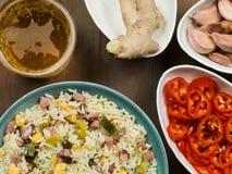 Nasi Goreng Indonesian Style Food fotografia de stock