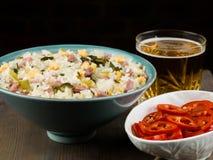 Nasi Goreng Indonesian Style Food fotos de stock royalty free