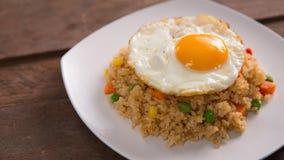 Nasi goreng lub smażący ryż zdjęcie royalty free
