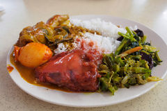 Nasi Kandar Stock Photography