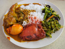 Nasi Kandar Royalty Free Stock Photos