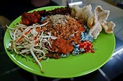 Nasi Kerabu Royalty Free Stock Photos