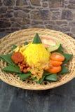 Nasi Kuning Fotos de archivo