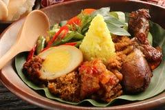 Nasi Kuning Fotografia de Stock
