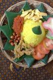 Nasi Kuning Stock Images