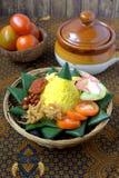 Nasi Kuning Royalty Free Stock Images