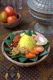 Nasi Kuning Royalty Free Stock Photos