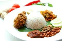 nasi lemak вкусное Стоковые Изображения