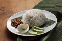 Nasi lemak royalty-vrije stock afbeeldingen