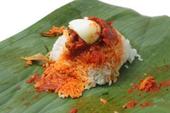 Nasi Lemak Stock Photo