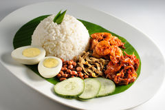 Nasi lemak Stock Photography