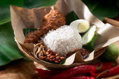 Nasi Lemak royalty free stock images