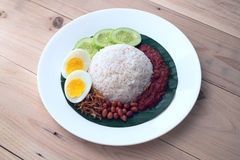 Nasi Lemak stock photos