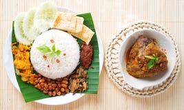 Free Nasi Lemak Hot And Spicy Stock Photos - 31517773