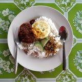 Nasi lemak Royalty Free Stock Photos