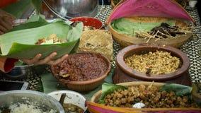 Nasi liwet na ulicznym tradycyjnym jedzeniu Zdjęcie Stock