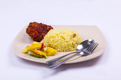 Nasi minyak malaysian food Royalty Free Stock Image