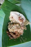 Nasi-pecel von Madiun, Osttimor, Indonesien stockbild