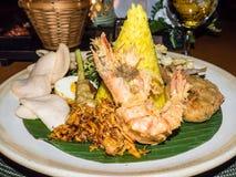 Nasi Tempeng Stock Photo