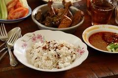 Nasi Uduk Betawi Fotografia de Stock Royalty Free