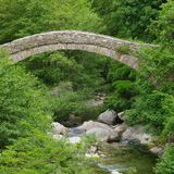 Nasino Bridge Stock Image