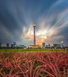 nasional Джакарта monumen Стоковые Фото