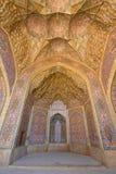 Nasir Al-Mulk Moschee Stockfotos