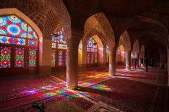 Nasir al-Mulk moské Arkivfoto