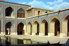 Nasir Al-Mulk Mosque Royalty Free Stock Image