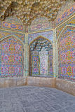 Nasir al-Mulk Mosque decoration vertical Royalty Free Stock Images