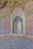 Nasir al-Mulk Mosque decoration vertical Royalty Free Stock Images