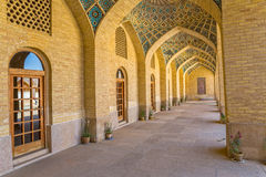 Nasir al-Mulk Mosque hall passage Stock Photography