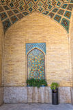 Nasir al-Mulk Mosque hall passage Stock Photo