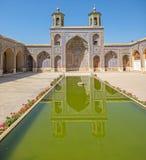 Nasir al-Mulk Mosque pool Royalty Free Stock Images
