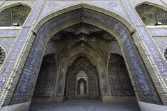 Nasir al-Mulk Mosque - Shiraz Royaltyfria Bilder