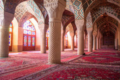 Nasir al-Mulk mosque stock photos