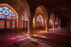 Nasir al-Mulk mosque. Shiraz, Iran Stock Photo