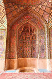 Nasir al-Mulk mosque, Shiraz, Iran Royalty Free Stock Images