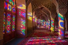 Nasir al-Mulk Mosque in Shiraz, Iran royalty-vrije stock fotografie