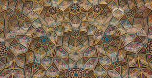 Nasir al-Mulk Mosque stock images