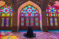 Nasir al-Mulk Mosque in Shiraz, Iran Royalty Free Stock Photos