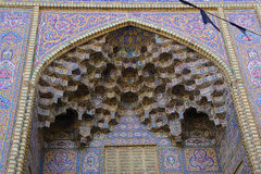Nasir al-Mulk Mosque is a traditional mosque in Shiraz, Iran. It Royalty Free Stock Images